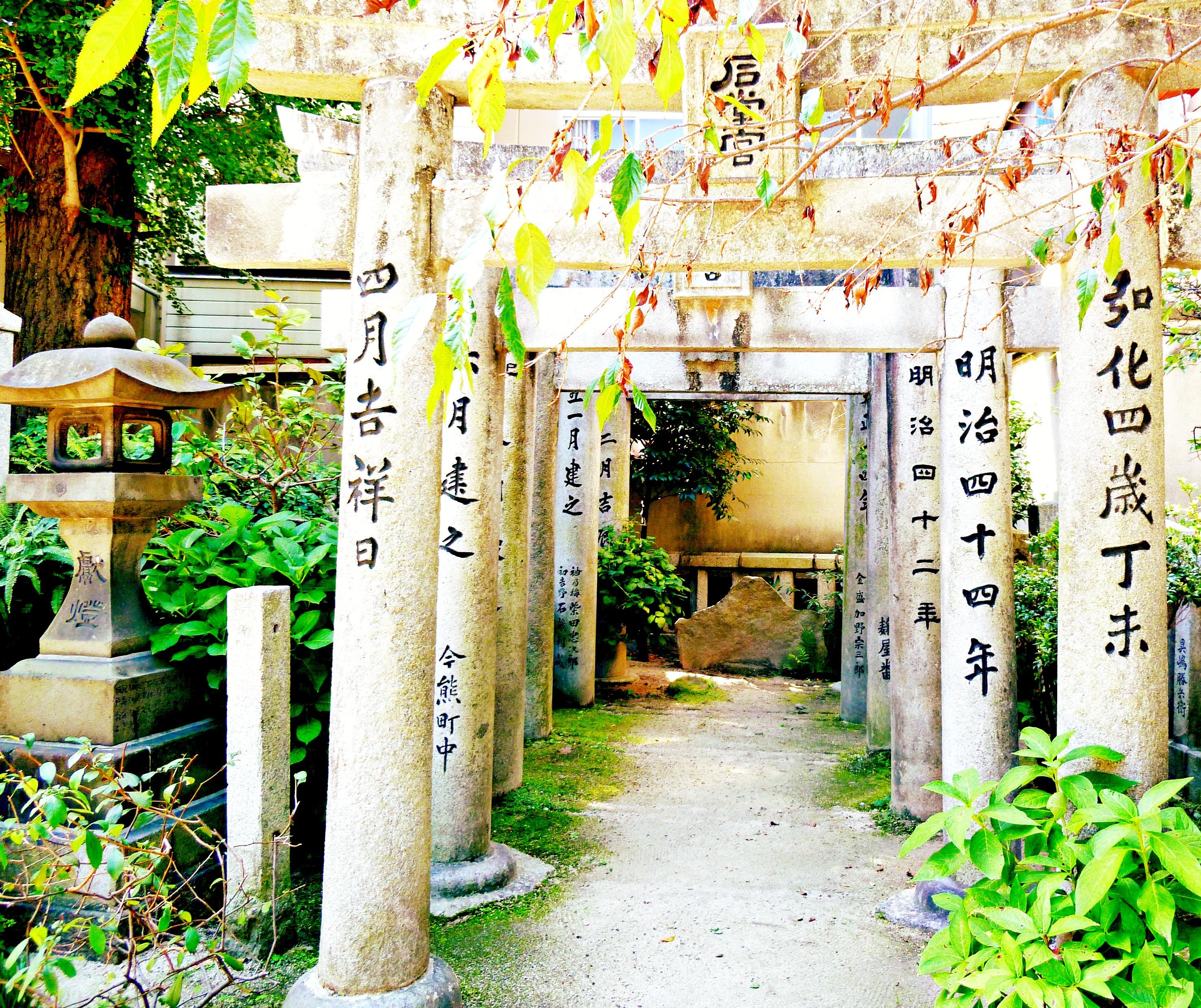 A Tour of Fukuoka Japan Kushida-Jinja Shrine 5