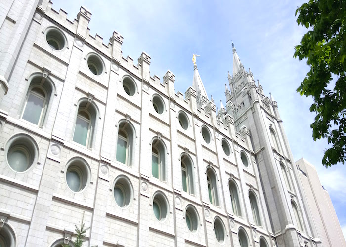 Where to stay, visit and eat in Salt Lake City Temple Square exterior