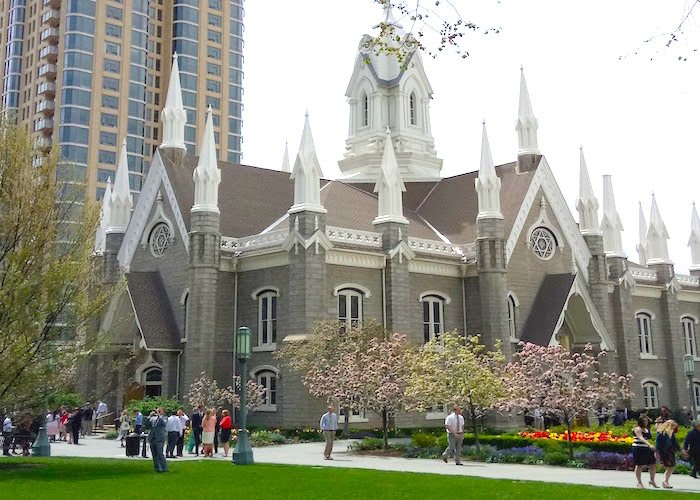 Where to stay, visit and eat in Salt Lake City Temple Square garden surrounds
