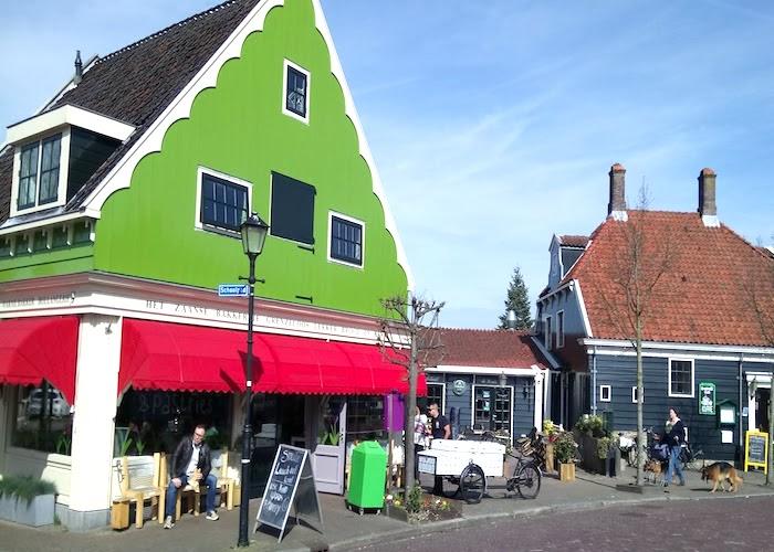 Zaanse Schans Windmills Amsterdam nearby town
