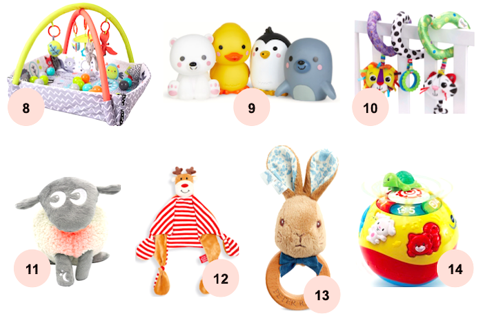 Gift Ideas For A Baby S First Christmas Love From Lisa